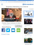Streambox Live Channel Page URL Tooltip Demonstration