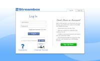 Streambox Live Login on Chrome for Windows