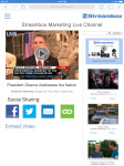 Streambox Live Channel Page Live Streaming