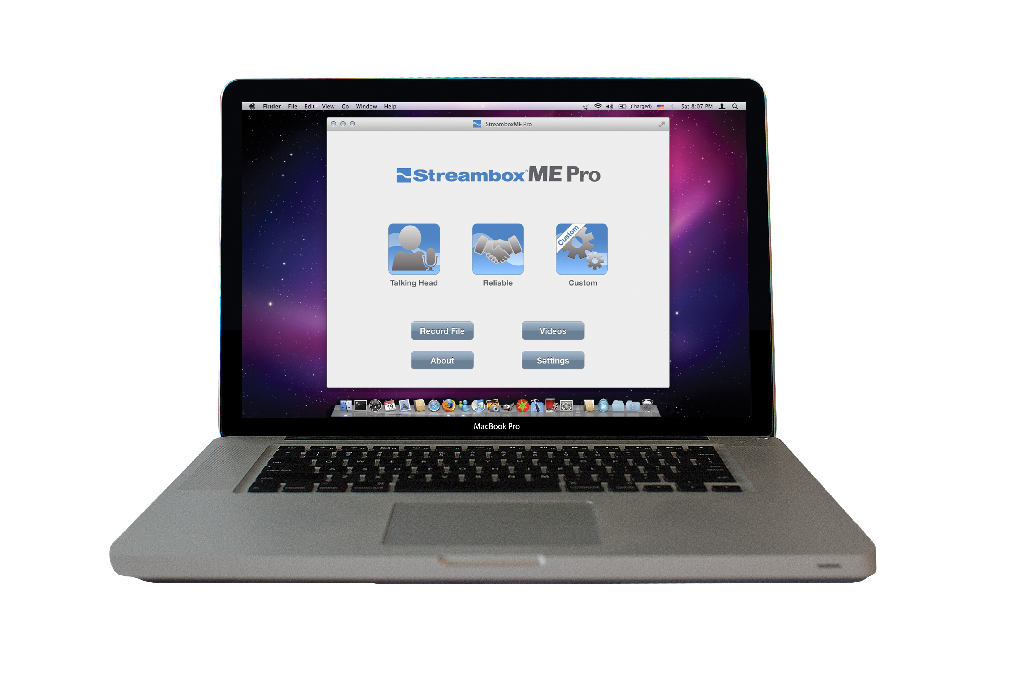 StreamboxME Pro for OS X